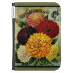 Paquete de la semilla del vintage floral - enciend
