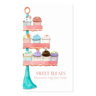 Paquete de negocio de la panadería de la hornada d tarjetas de visita