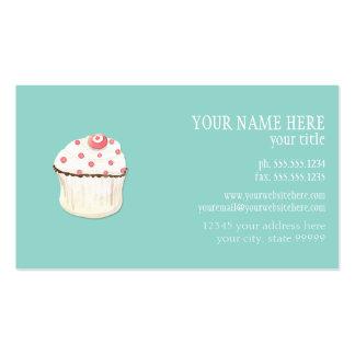 Paquete de negocio de la panadería de la hornada d plantilla de tarjeta de visita