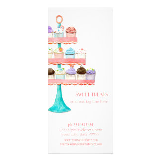 Paquete de negocio de la panadería de la hornada d tarjeta publicitaria a todo color