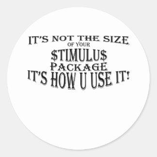 Paquete de Simulus también Pegatina Redonda