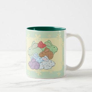 Paquete de taza de los conejitos