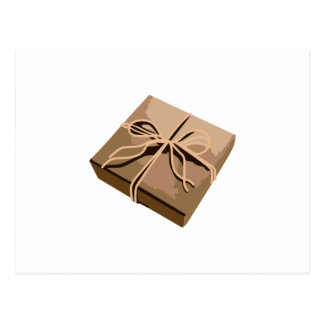 Paquete del papel de Brown Postal