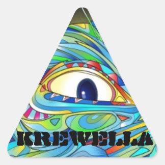 Paquete del pegatina de Krewella Illuminati