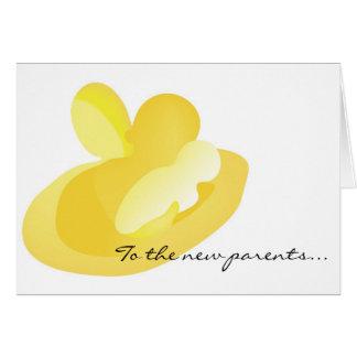 Paquete dulce de alegría… tarjeta de felicitación