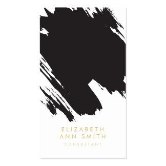 Paquete elegante de la tarjeta de visita de las