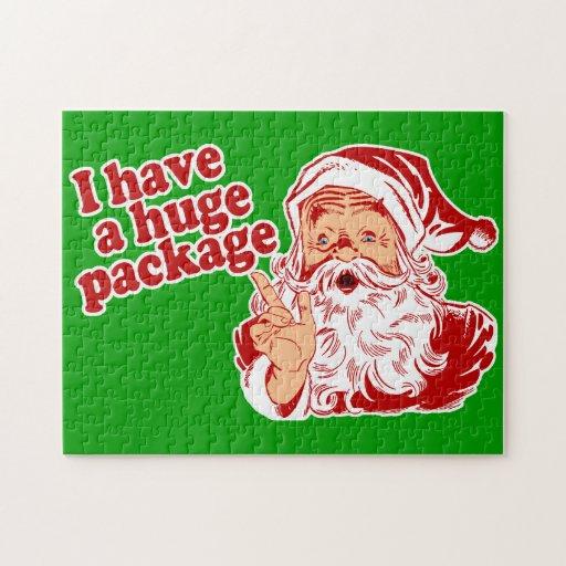 Paquete enorme de Santas Puzzles
