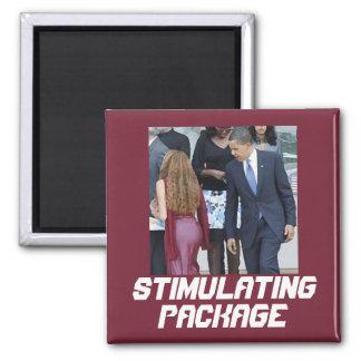 Paquete estimulante imán cuadrado