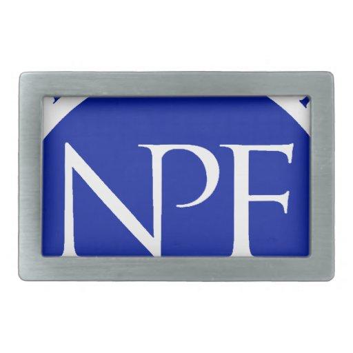 Paquete nacional del regalo de la fundación de la  hebilla de cinturón rectangular