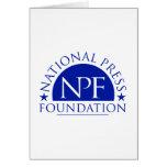 Paquete nacional del regalo de la fundación de la  tarjeton