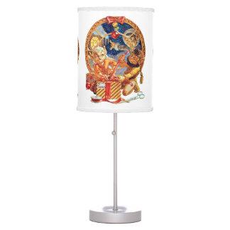 Paquete pasado lámpara de mesilla de noche