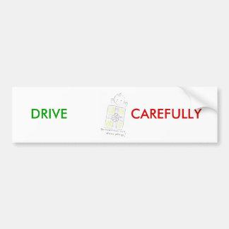 Paquete precioso pegatina para auto