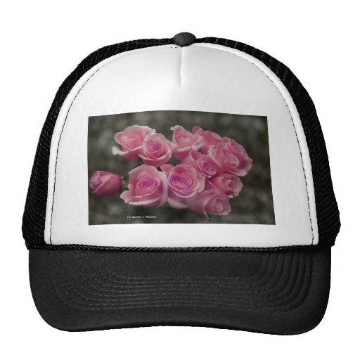 Paquete rosado de los rosas gorros