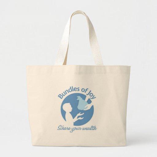 Paquetes de alegría bolsas de mano