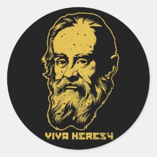 Paquetes del pegatina de la herejía de Galileo Vi