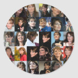 Paquetes del pegatina del collage de Sarah Palin