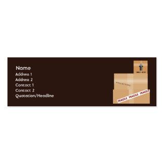 Paquetes - flacos tarjetas personales