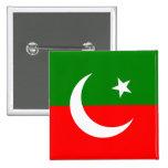 Paquistán Tehreek E Insaf, bandera de Colombia Pin