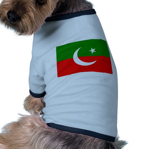 Paquistán Tehreek E Insaf, bandera de Colombia Camisas De Mascota