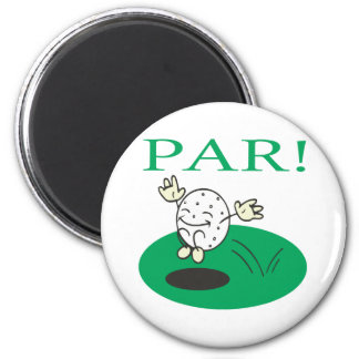 Par 2 Inch Round Magnet