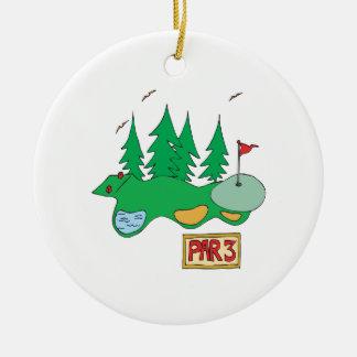 Par 3 ornamento para arbol de navidad