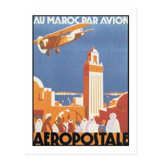 Par Avion de Maroc del Au de Aeropostale