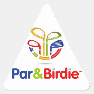 Par&Birdie Customized Products Sticker