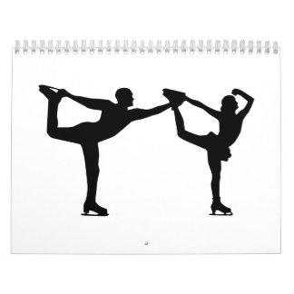 Par del patinaje artístico calendarios