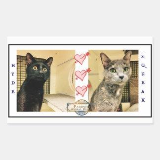 PAR Hyde & Squeak Sticker
