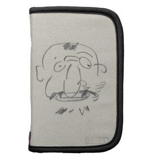 Par Lui-Meme lápiz de Lautrec de la carga en el p Planificador