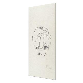 Par Lui-Meme (lápiz de Lautrec de la carga en el p Lona Estirada Galerias
