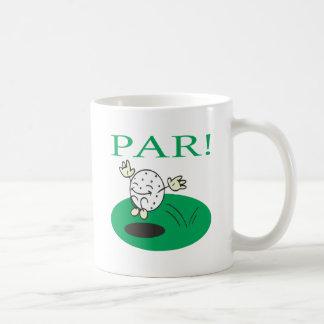 Par Classic White Coffee Mug