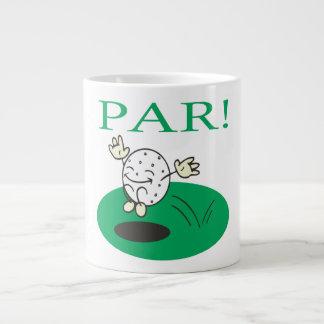 Par 20 Oz Large Ceramic Coffee Mug