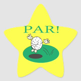 Par Star Sticker