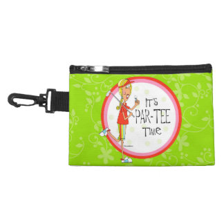 Par-tee Golf Clip on accessory bag
