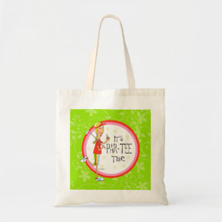 Par-tee tote bag golf lady