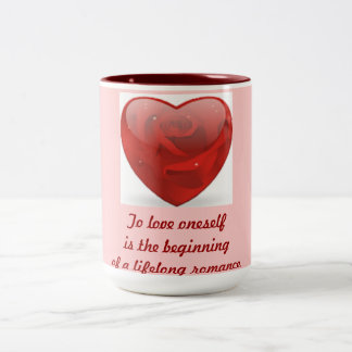 Para amarse es el principio --Taza Taza Dos Tonos