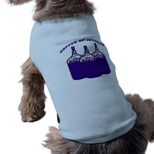 Para arriba saltado Jughead Camisetas Mascota