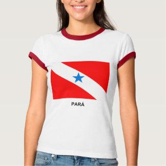 Pará, bandera del Brasil Playera