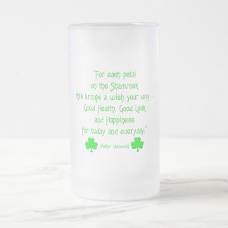 Para cada pétalo en el trébol… tazas de café