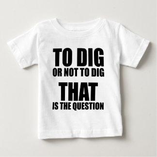 Para cavar o no cavar, ése es la pregunta playeras