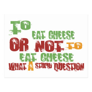 Para comer el queso postal