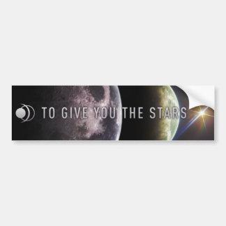 Para darle las estrellas pegatina para el parachoq pegatina para auto