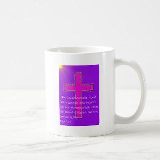 Para dios tan amado el mundo tazas de café