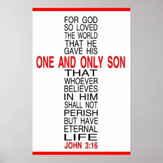 Para dios tan amado el poster del mundo