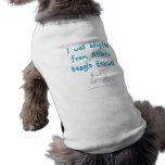 Para el alumbre de ABR Camisas De Mascota