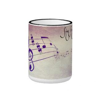 para el amante de la música en su vida, o quizá un taza de dos colores