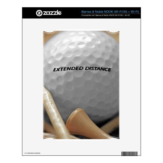 Para el amante del golf calcomanías para el NOOK