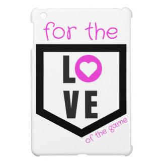 para el amor caso del iPad del juego del mini, ros