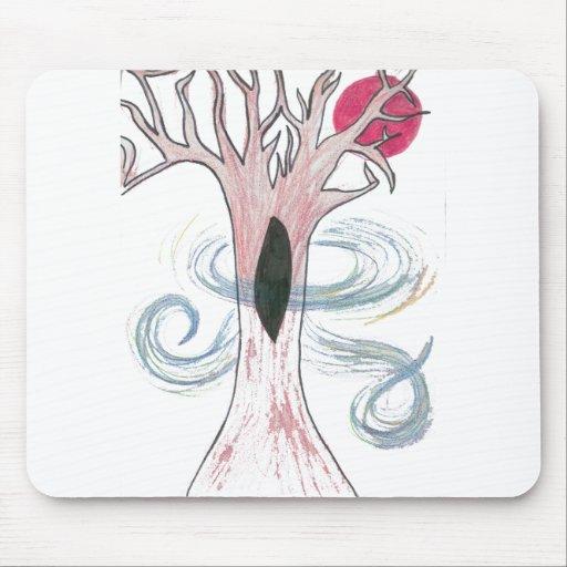 Para el amor de árboles tapete de ratón